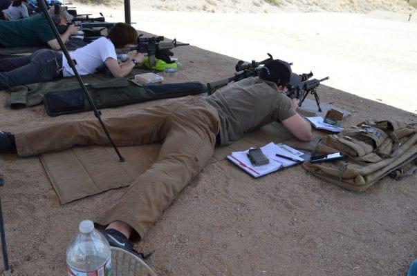 Prone Rifle Shooting