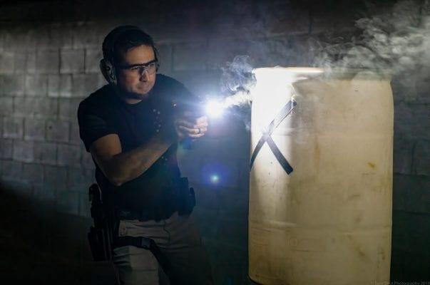 Low Light Pistol Training